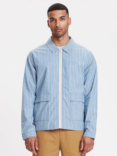 Legends Ortega Jacket - Light Blue Stripe