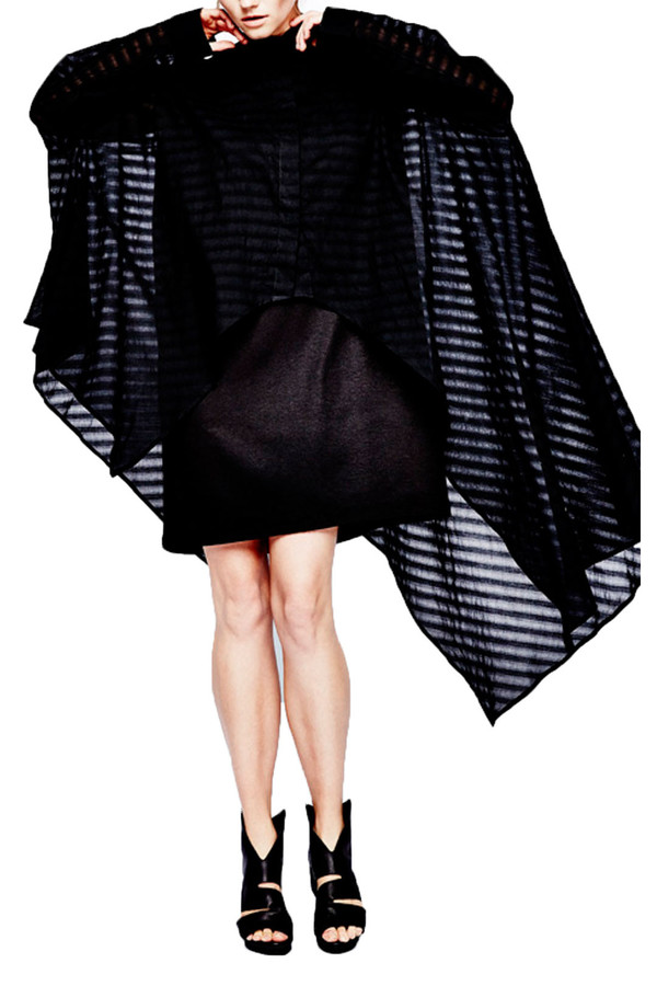 Sid Neigum Modified Dress Shirt I Black