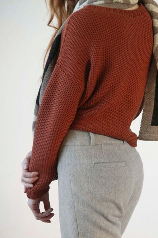 Kordal Cropped Merino Sweater