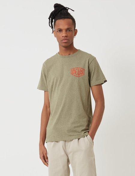 Deus Ex Machina Premium Canggu T-Shirt - Bark Marle