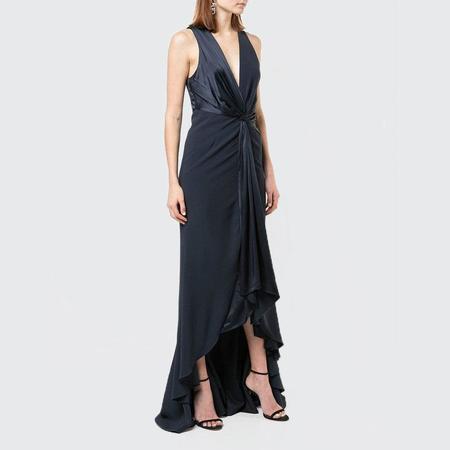 Cinq A Sept Iris Gown - Navy