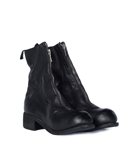 Guidi PL2 Front Zip Boot - Black