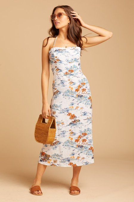 Free People Beach Party Dress - tropical