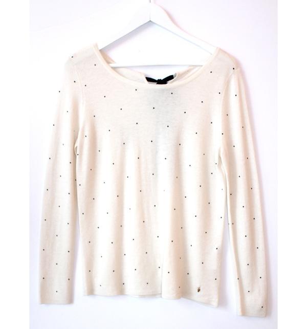 Des Petits Hauts Dot Sweater