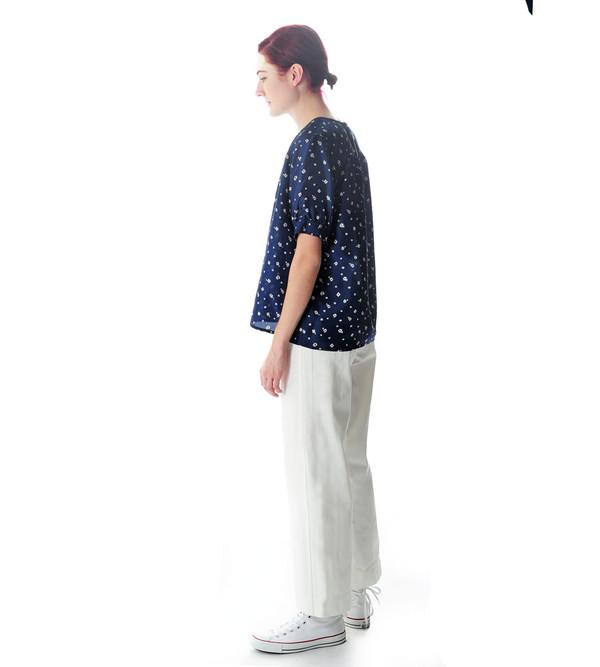 Caron Callahan Floral Silk Lizzy Shirt