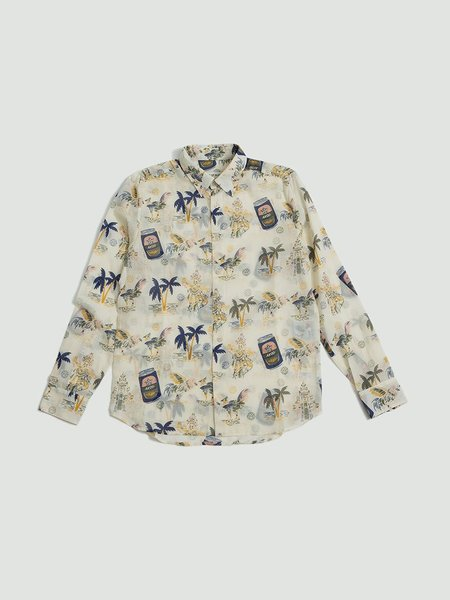 A Kind of Guise Flores Shirt - Tourist