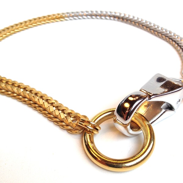 Alynne Lavigne Two tone collar necklace
