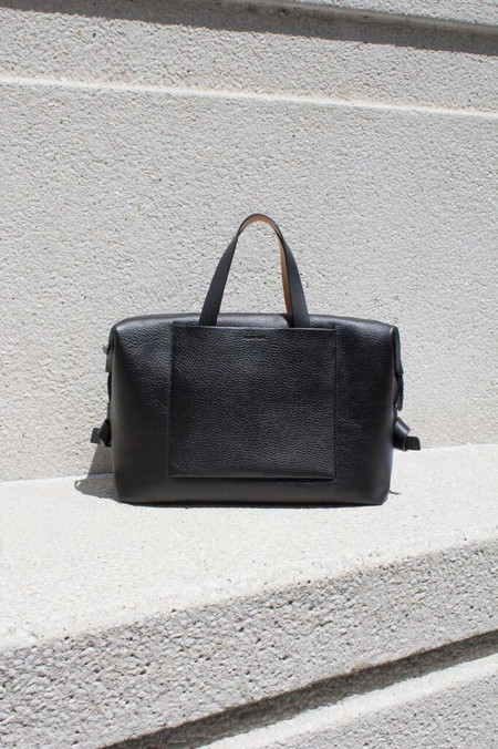 Building Block Pebbled Leather Case Carryall