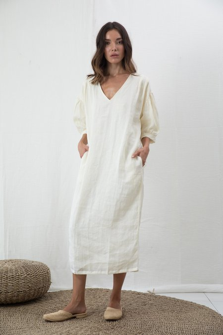 at Dawn. Puff Sleeve Kaftan