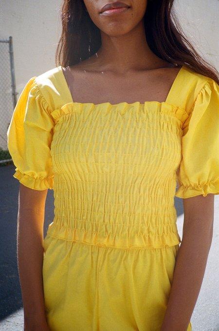 Lisa Says Gah Toni Top - Yellow