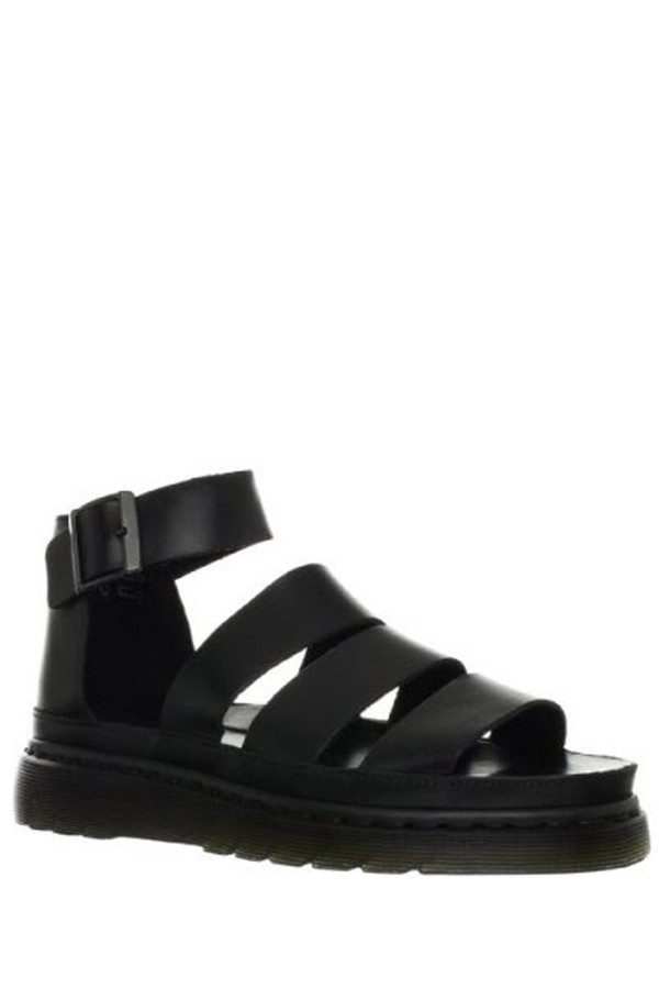 Dr. Martens Leather Clarissa Sandal - Black