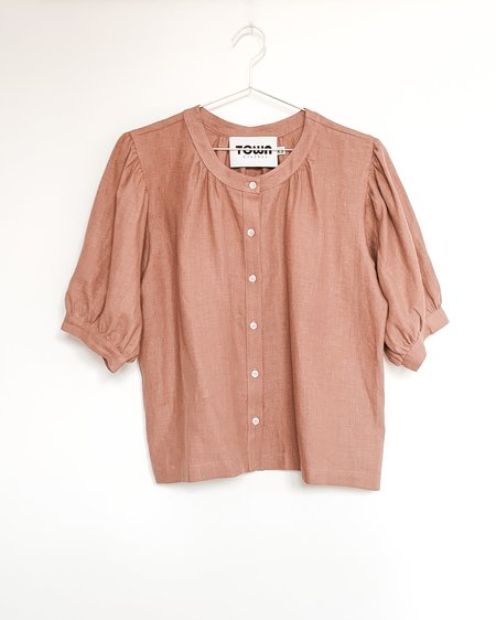 Town Clothes Market Blouse - Clay