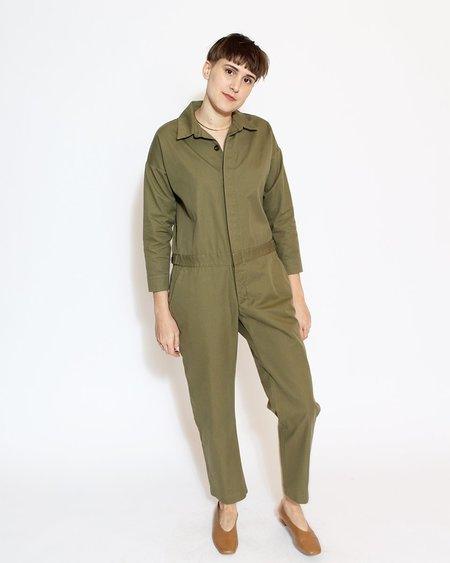 Esby Charlie Workwear Jumper - Moss