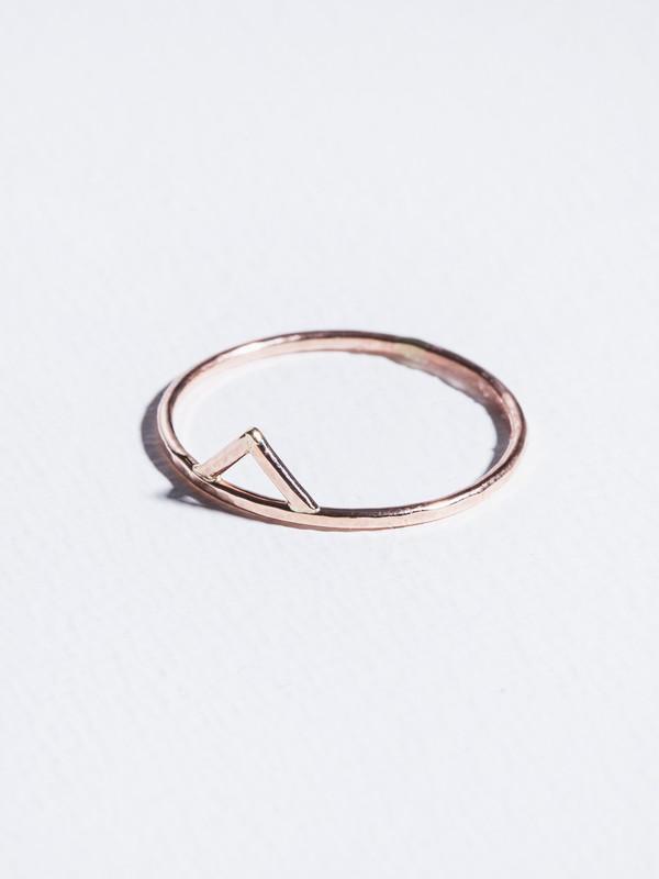 STEFANIE SHEEHAN Gold Spike Ring