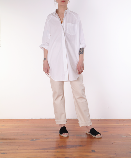 Kowtow Oversized Shirt - white