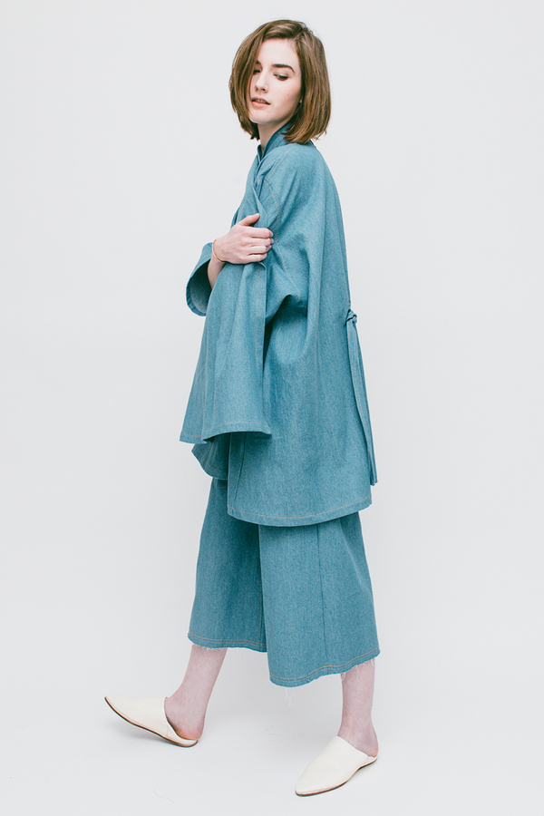 Lauren Winter Swing Duster