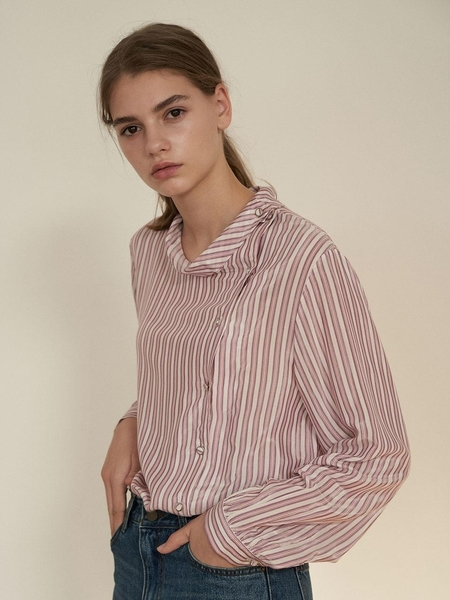 Cereal Button Blouse - Pink