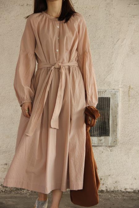 LINDSAY ROBINSON MESA DRESS - ROSE