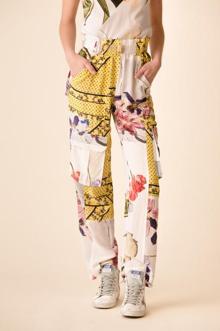 efabff6f ... Ganni Hemlock Silk Pants - Block Colour