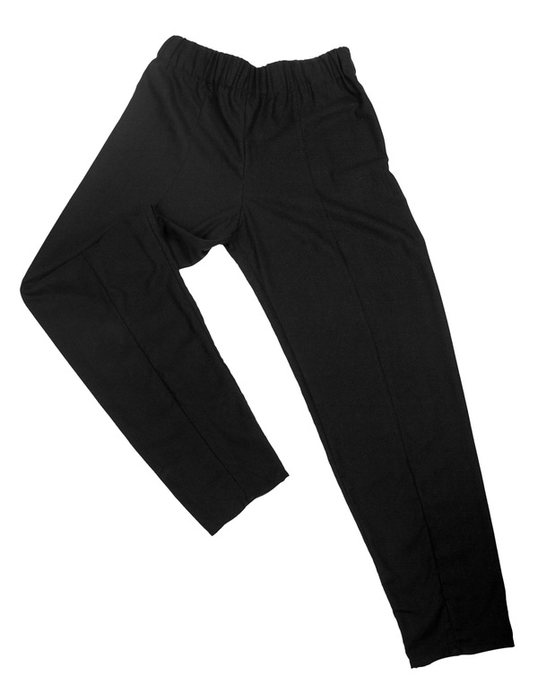 Devlyn van Loon Raw Silk Seamed Pant