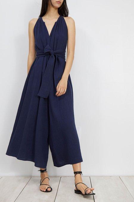 Apiece Apart Sleeveless Isla Jumpsuit - BLUE