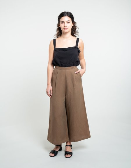 Ozma Studio Trouser - Earth