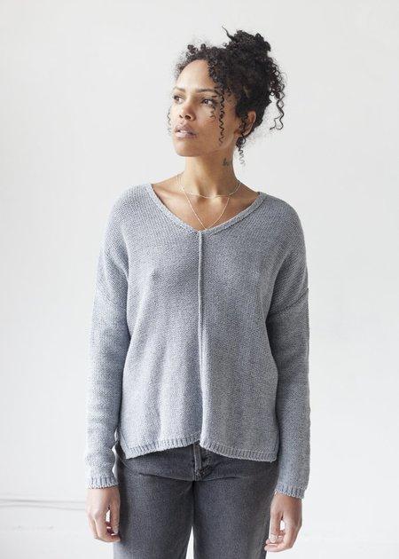 Line Knitwear Paloma top - Denim