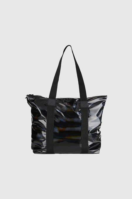 cc33939e4 ... Rains Tote Bag Rush - Holographic Black