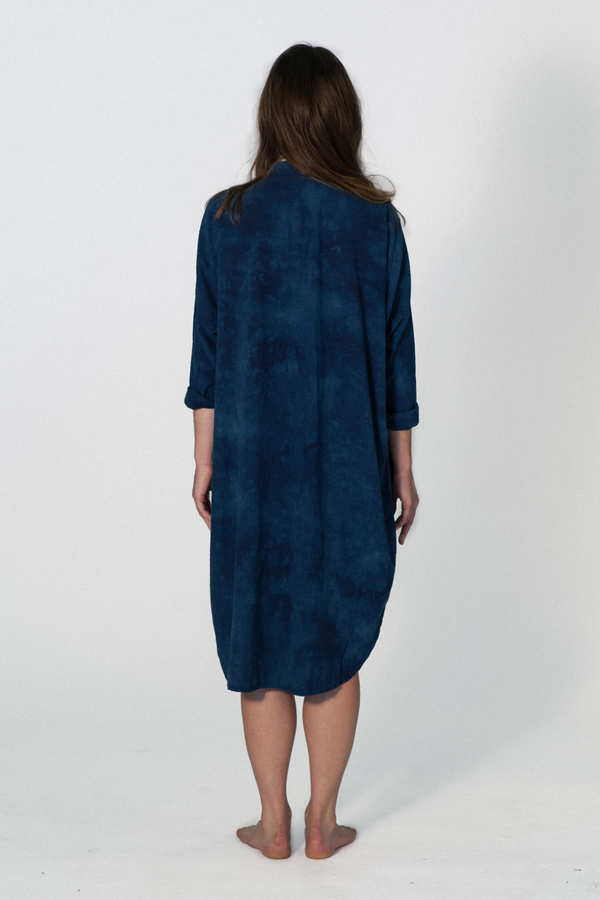 UPSTATE MARIA DRESS - INDIGO