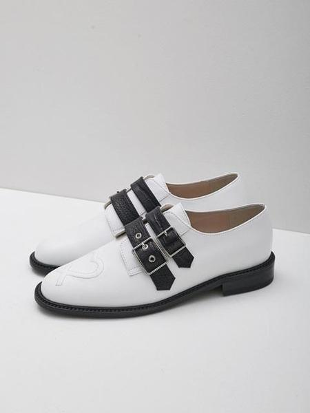 LOYIQ LQ8002 Loafer - White