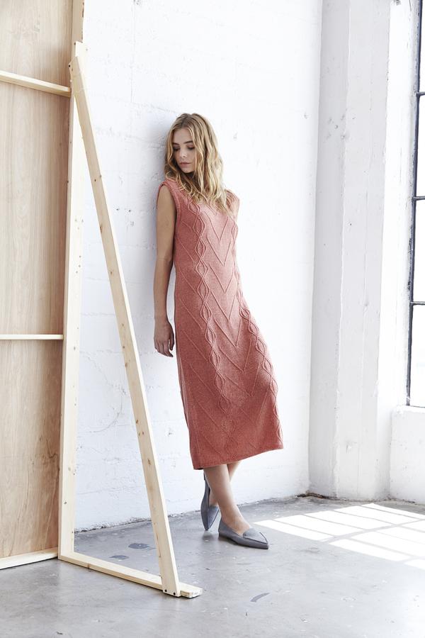 Callahan Cabeknit Lowback Dress