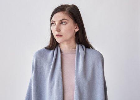 Lauren Manoogian Slouch Cardigan - Spa Blue