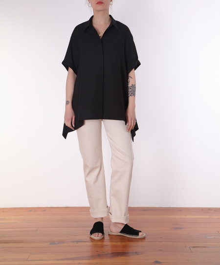 Henrik Vibskov Wind In Blouse - black