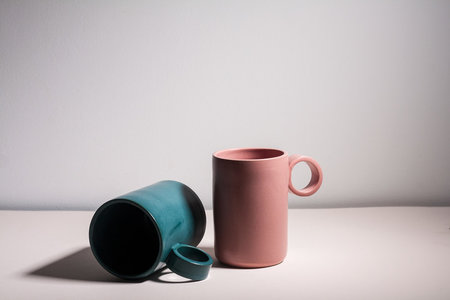 YYY tall circle mugs
