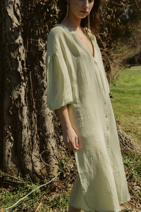 Gillia Jasmine Kaftan - Honey Dew