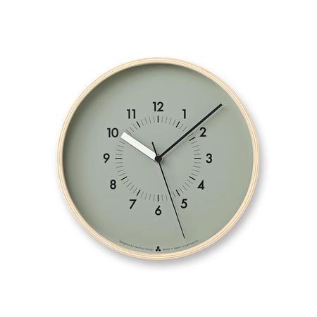 Lemnos Soso Wall Clock - Grey