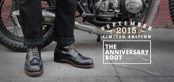 Men's Red Wing Shoes Anniversary Boot 2015 *Limited Edition*