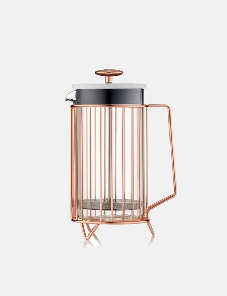 Barista & Co Corral 8 Cup Coffee Press - Copper