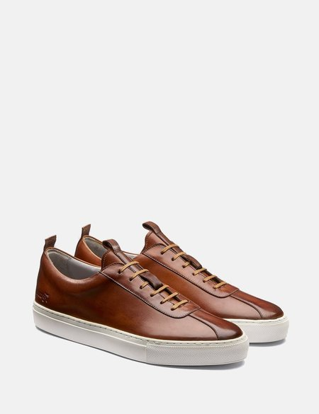 Grenson Leather Sneakers No.1 - Tan