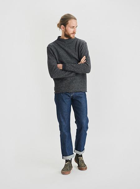 I AND ME Selvedge Slim Leg Jeans - Raw Indigo