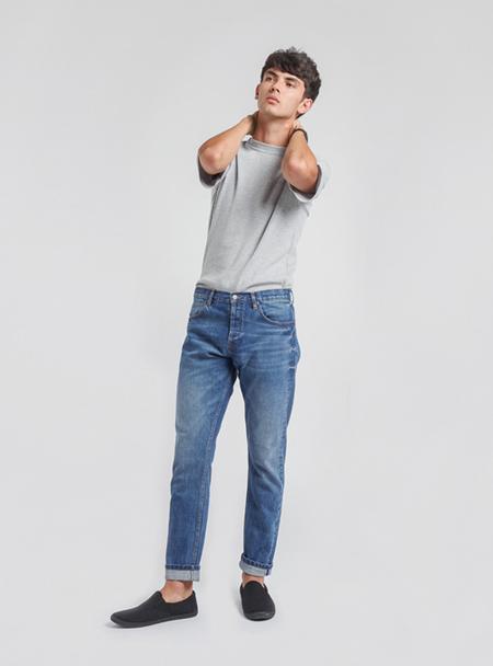 I AND ME Selvedge Skinny Jeans - Mid Vintage