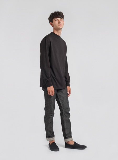 I AND ME Selvedge Skinny Jeans - RAW BLACK