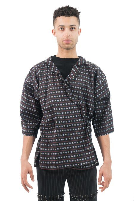 Julian Zigerli Ribbon Kimono