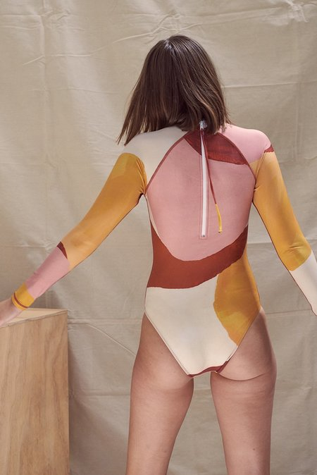 Hakea Surf Suit - Clay Print