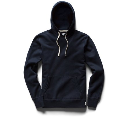 Reigning Champ Mid Weight Pullover Hoody - Navy