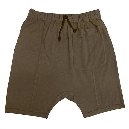 Kids Nico Nico Theo Harem Shorts - Birch Grey