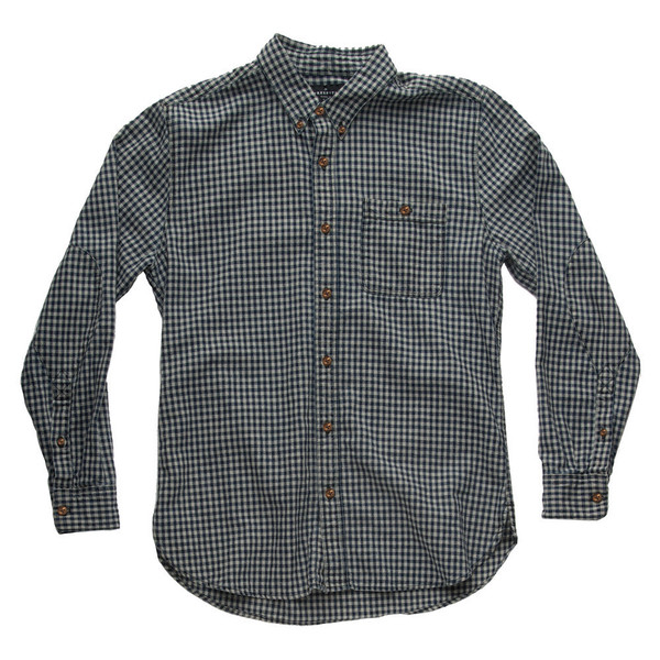 Men's Freenote Indigo Gingham Shirt