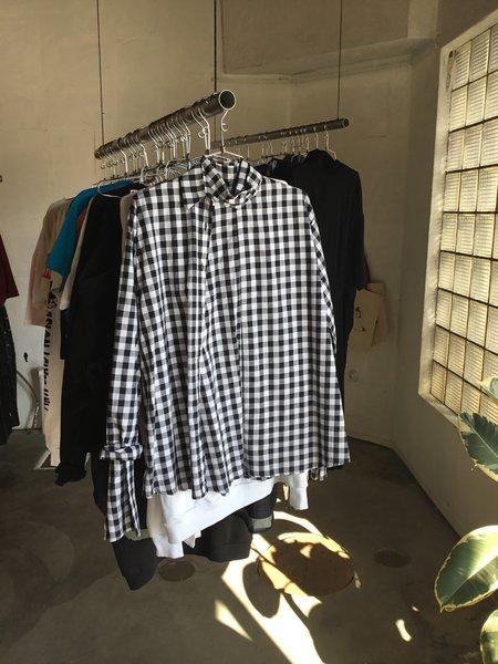 House of 950 Skirt Shirt - Plaid