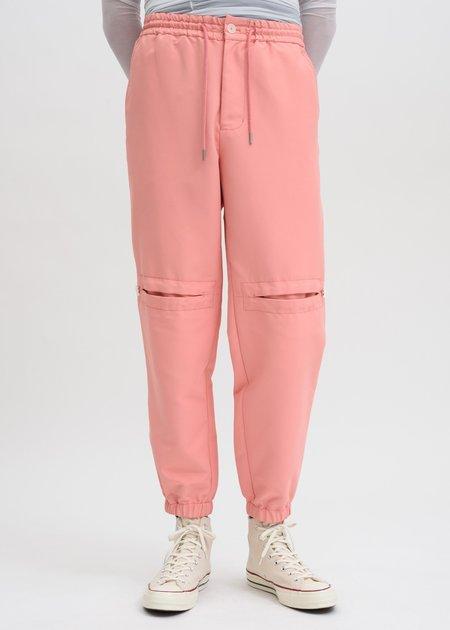 Feng Chen Wang Drawstring Trousers - Pink