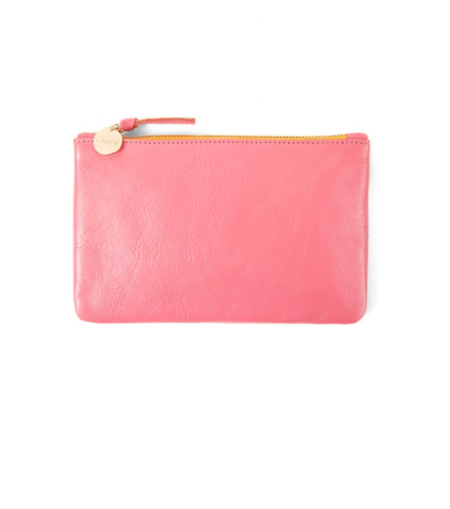 Clare V. Rustic Wallet Clutch - Petal